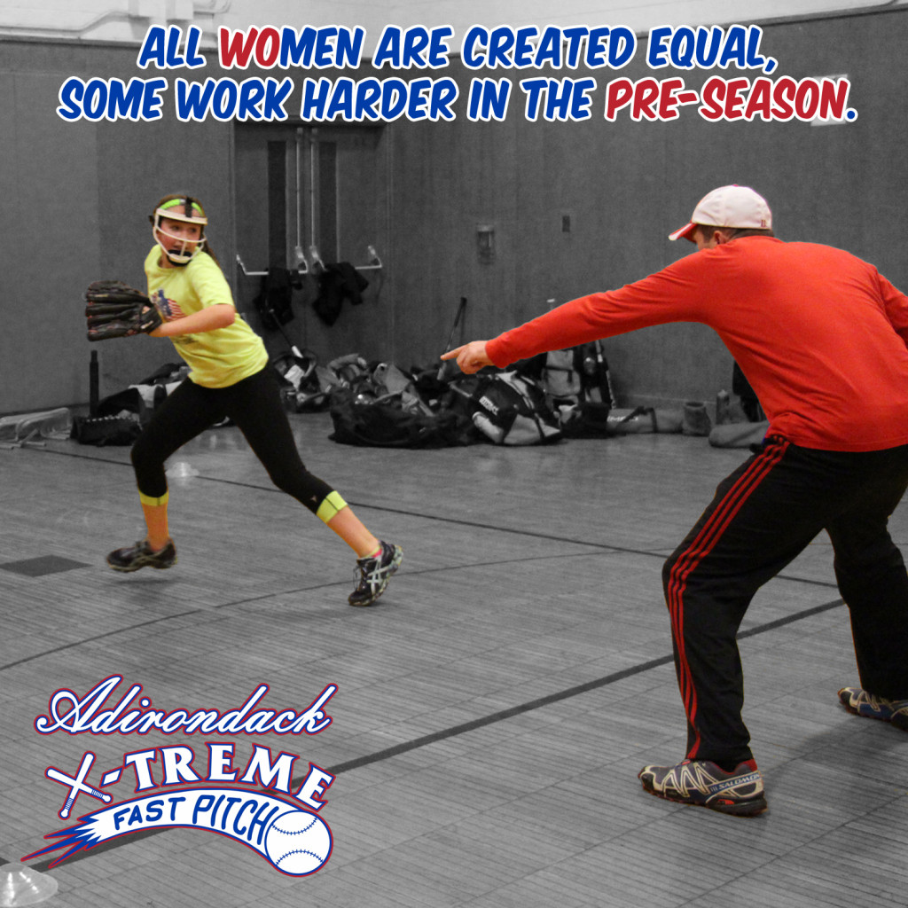 All women are created equal, some just work harder in the pre-season.