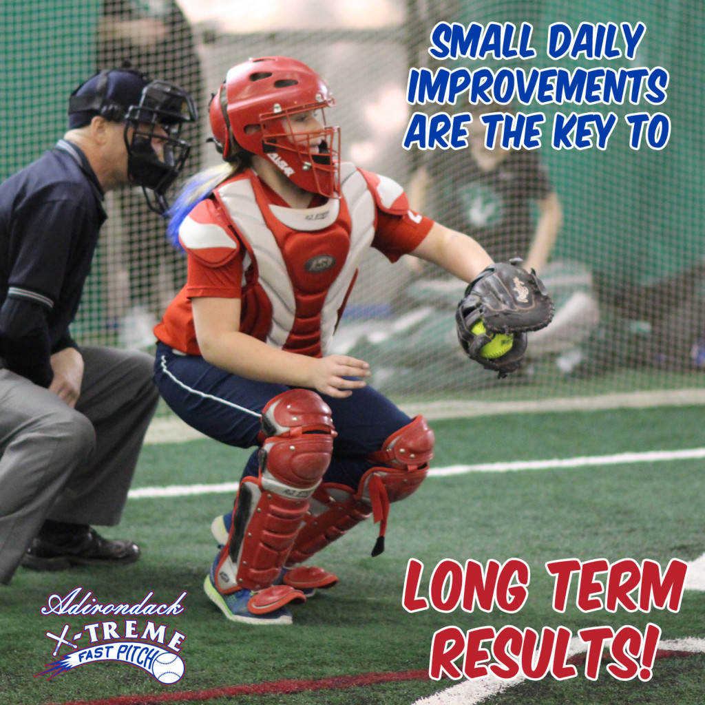 Small daily improvements are the key to long term success.